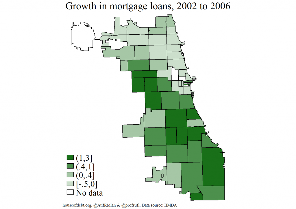 Growth in mortgage loans