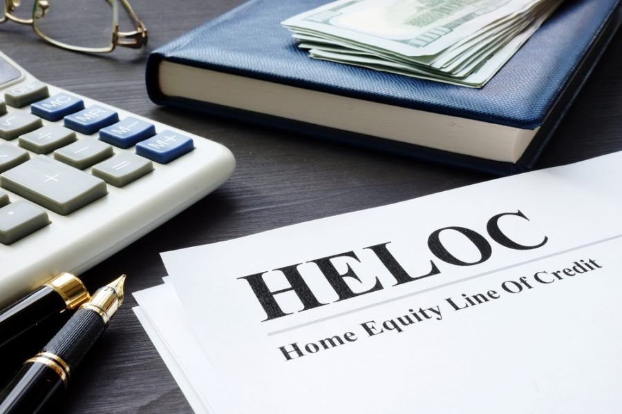 Home equity loan credit paperwork